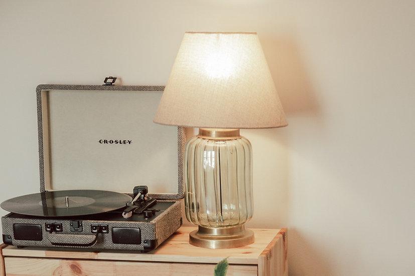 Shamrock Jar Table Lamp
