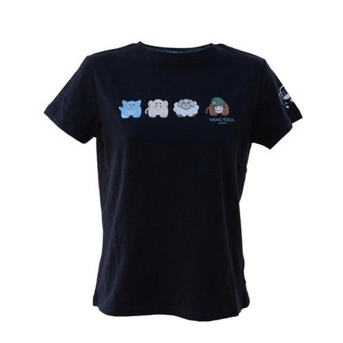 Manga Anime T-shirt Black Badass