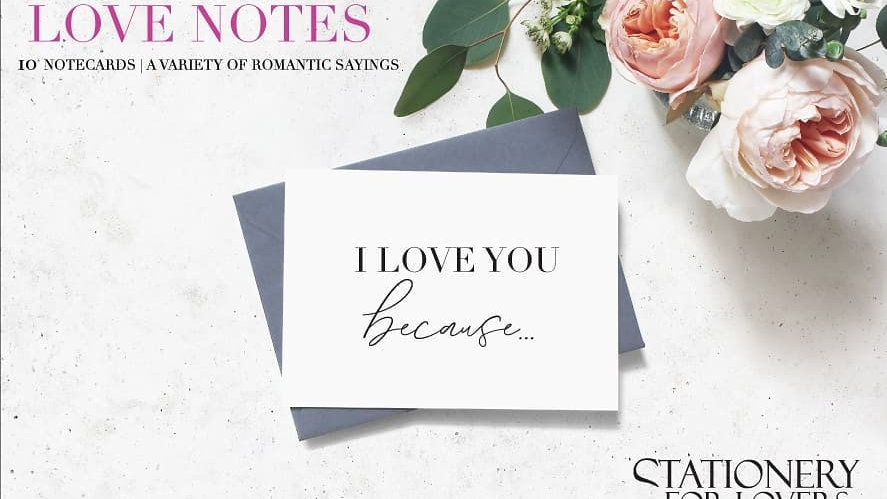 Stationery For Lovers® Love Notecard Set