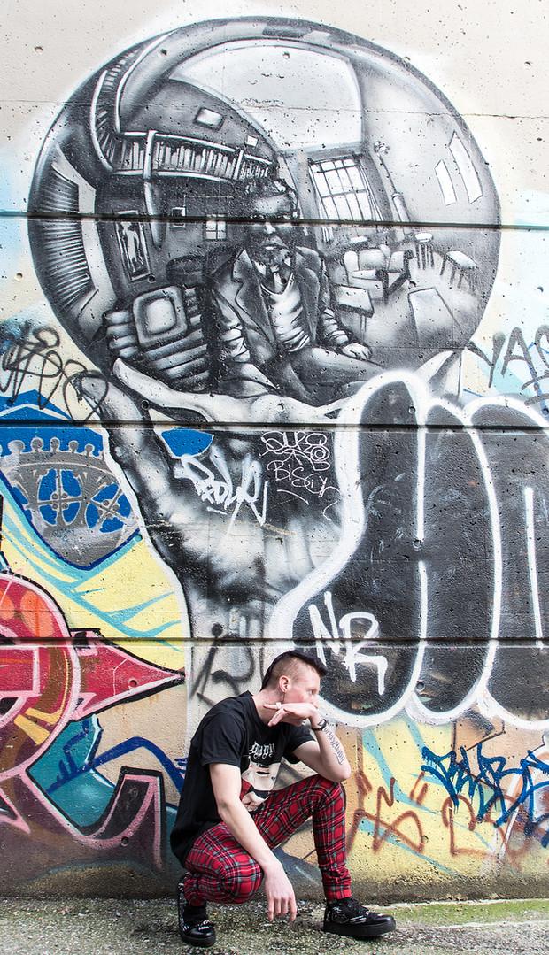 Lifestyle grafitti photography by Samantha Voros Photography Metro Vancouver