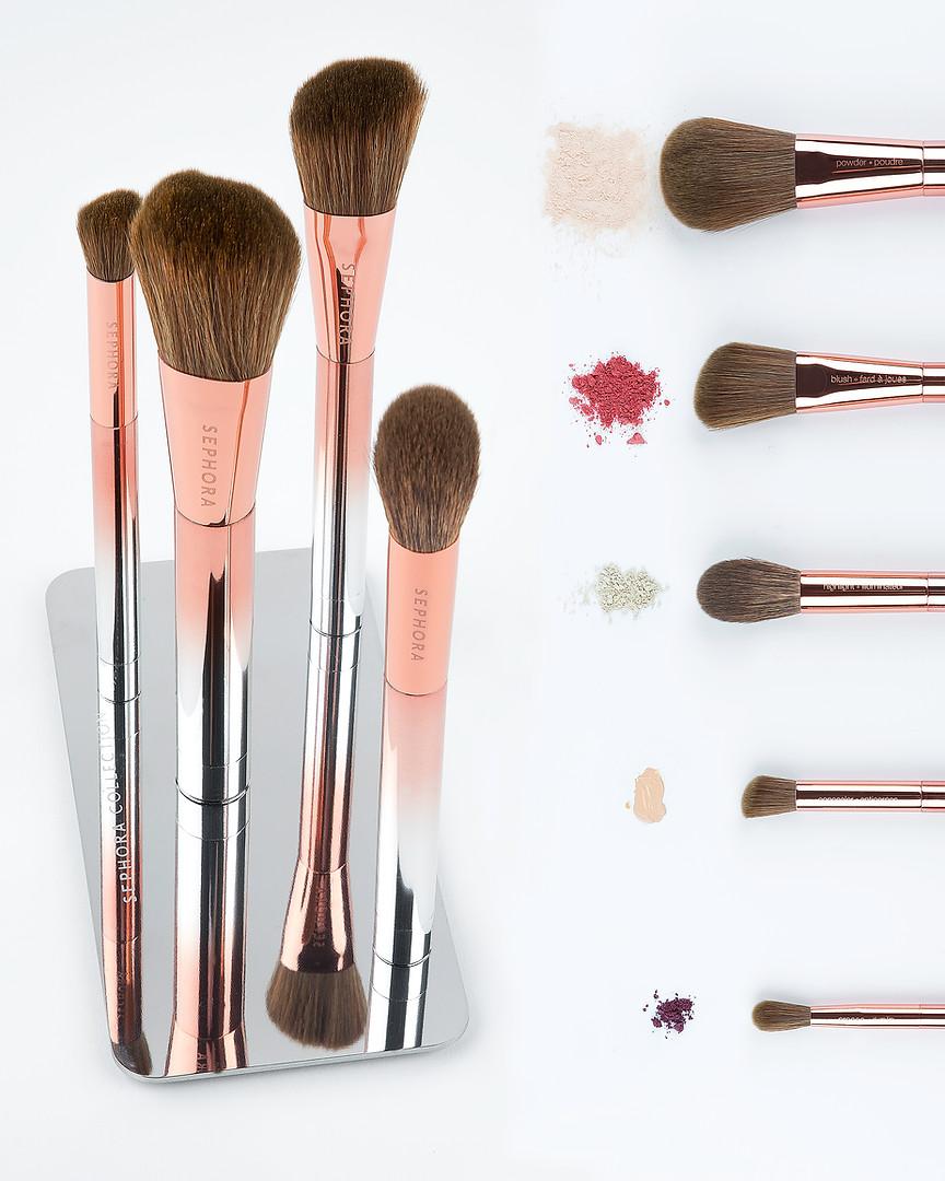 Product make up brush photography by Samantha Voros, Vancover