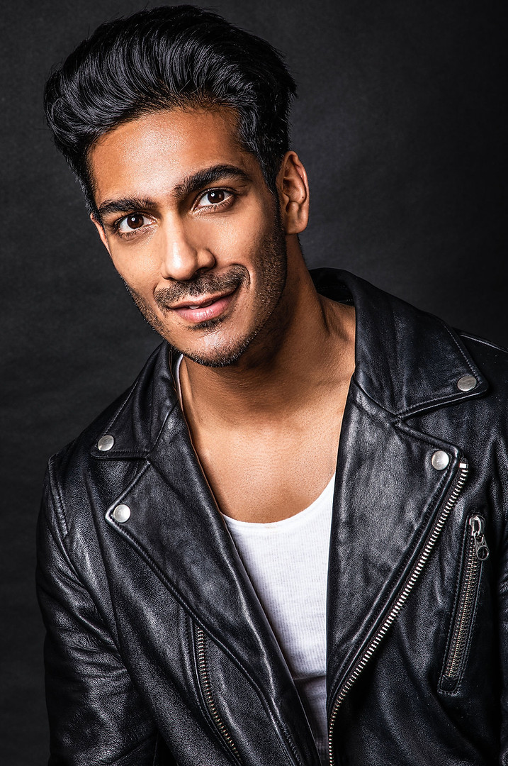 Portrait Photography by Samantha Voros Vancouver BC. Actor: Rohain Arora.