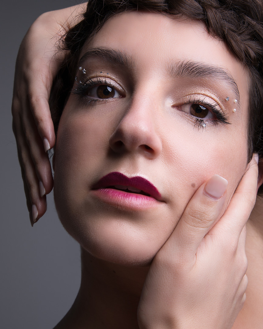 Aveda make up photograph