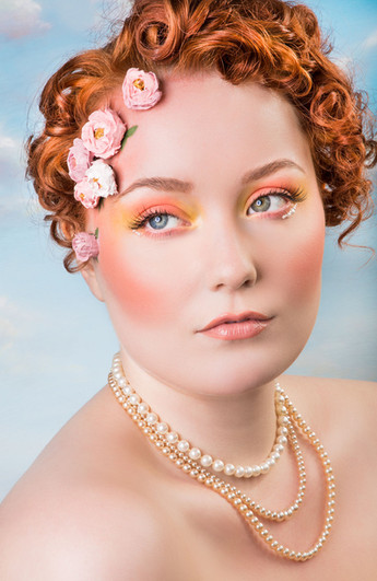 Glamour, make up and hair photographer Vancouver BC
