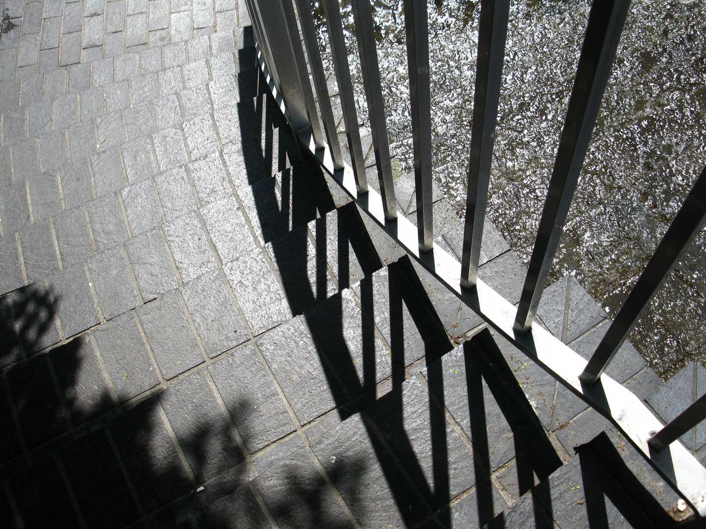 stairs and shadows image
