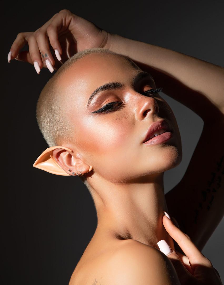 Elf makeup halloween photography