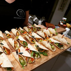Our mini fish tacos were a massive hit this weekend