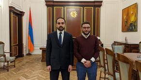 Meduni Executive Director Travels to Armenia