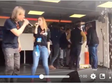 "Video: Hosting the event ""walk4help"""