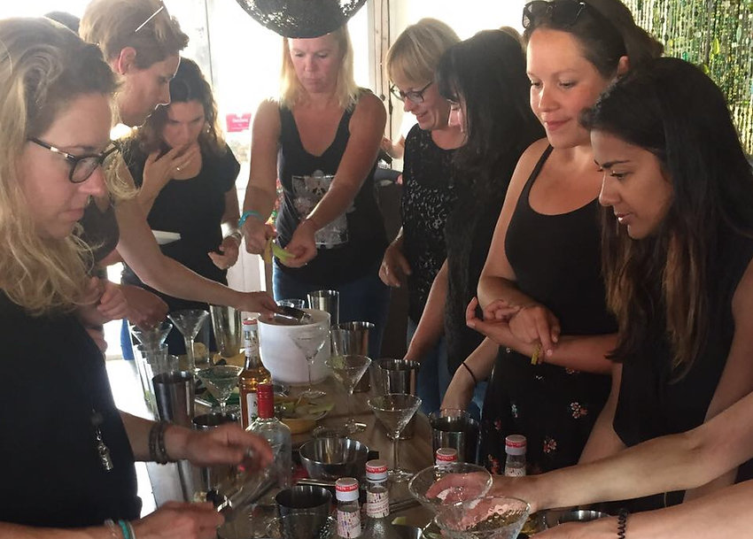Cocktail shaken met je vrienden