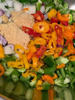 Rajas Vegetables