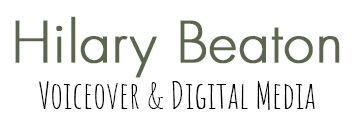 Hilary Beaton Voiceover & Digital Media logo