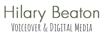 Hilary Beaton Voiceover & Digital Media logo