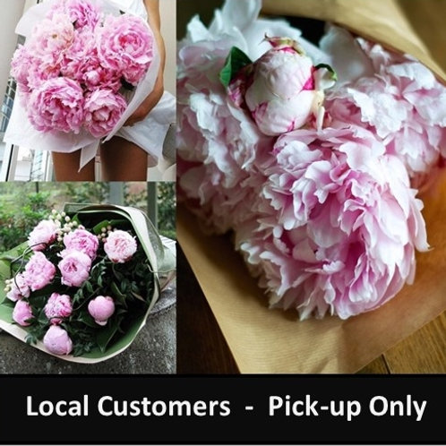 Thursday Peony Pick-up Subscription - LOCAL CUSTOMERS ONLY
