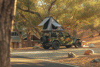 Clam Shell Rooftop Tent