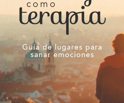 """Conferencia """"El viaje como terapia.Guía de lugares para sanar emociones"""" de Sandra Canudas"""