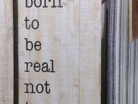 La clave: nacidos para ser reales, no perfectos