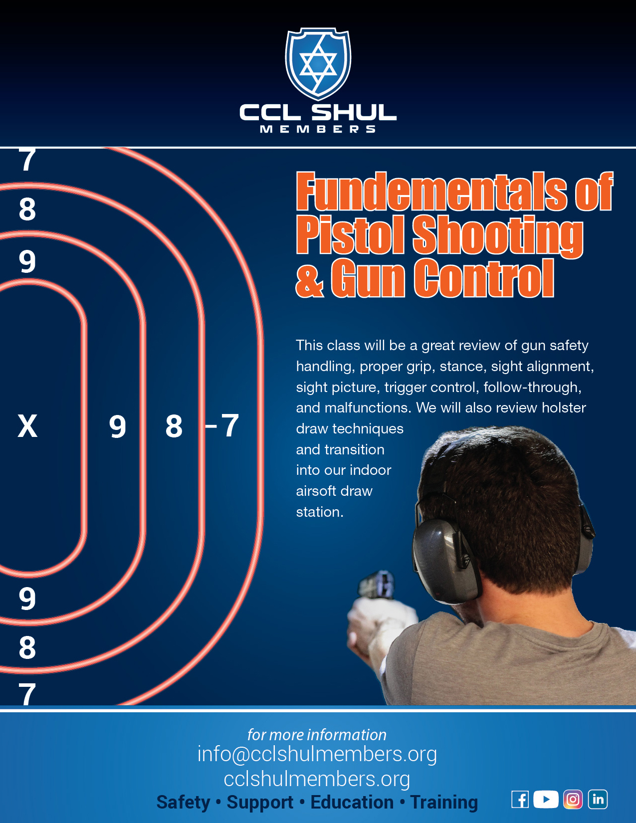 Fundamentals of Pistol Shootings and Gun Control
