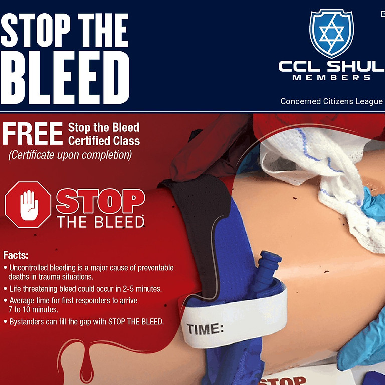Stop The Bleed Certification