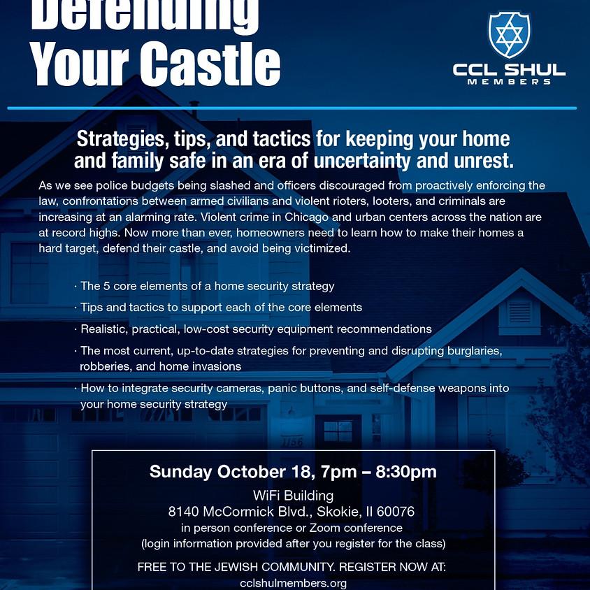 Defending Your Castle-In person seminar