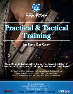 Practical and Tactical Training