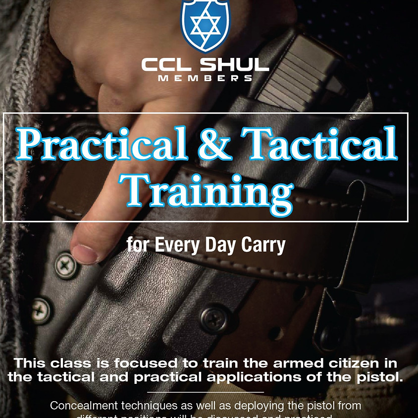Practical and tactical training for every day carry.