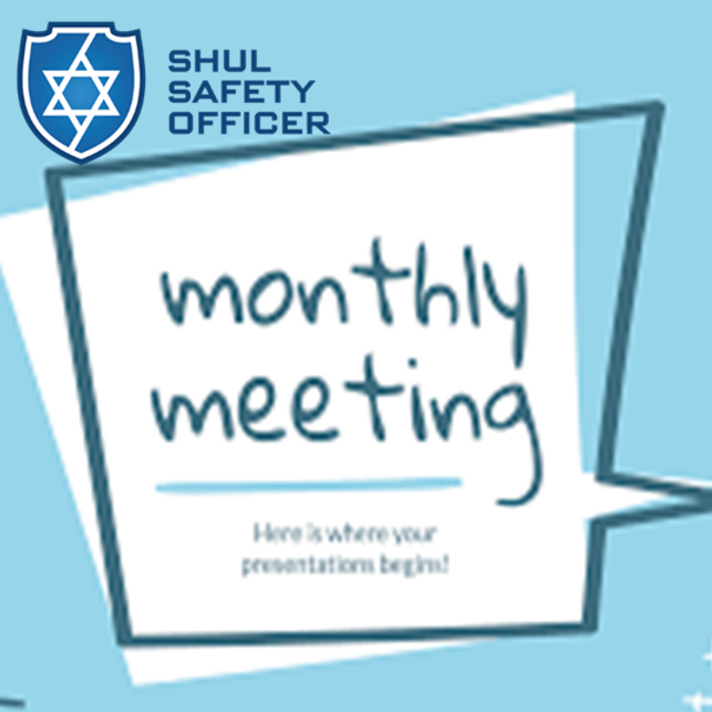 Monthly SSO Meeting