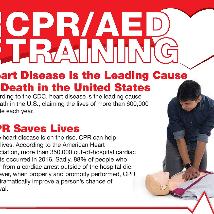 CPR/AED Certification for SSO's