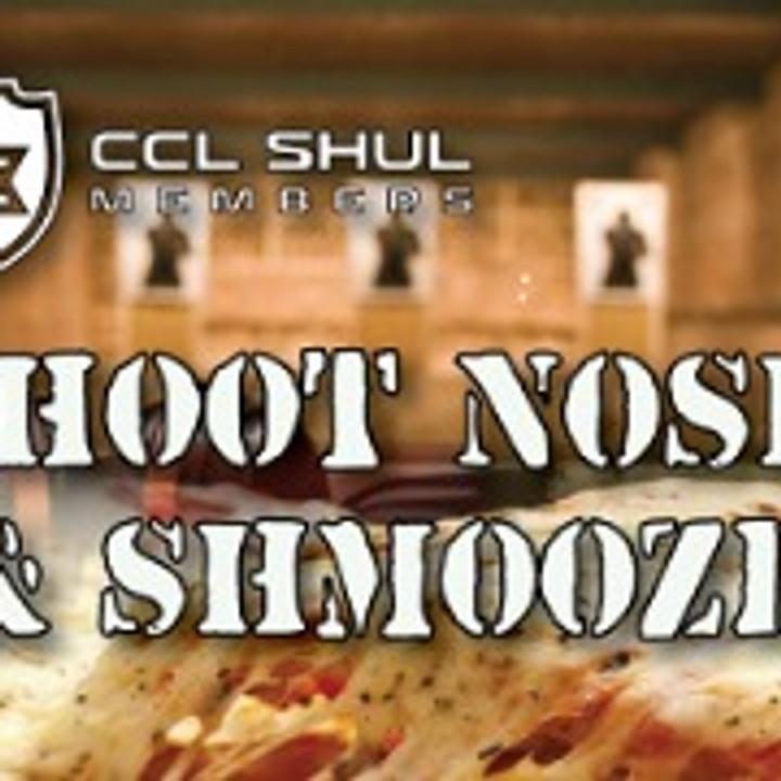SHOOT NOSH & SHMOOZE (Social event)