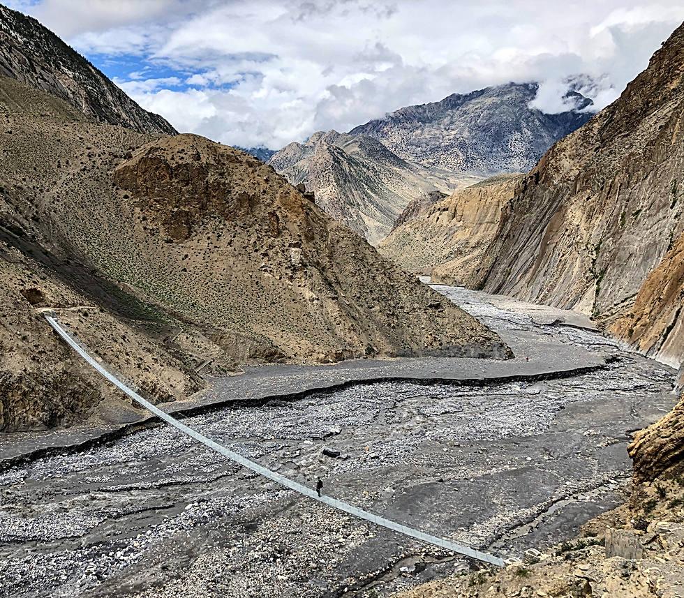 Pont suspendu - Kali Gandaki