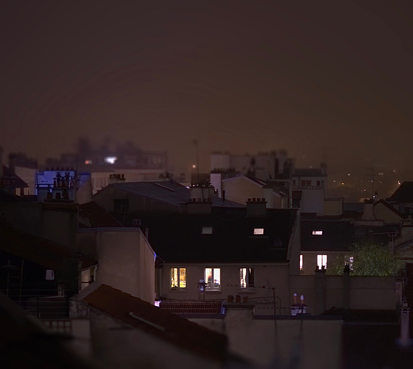 Brume sur Saint Germain