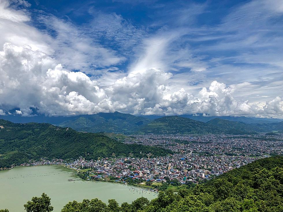 Pokhara et son lac