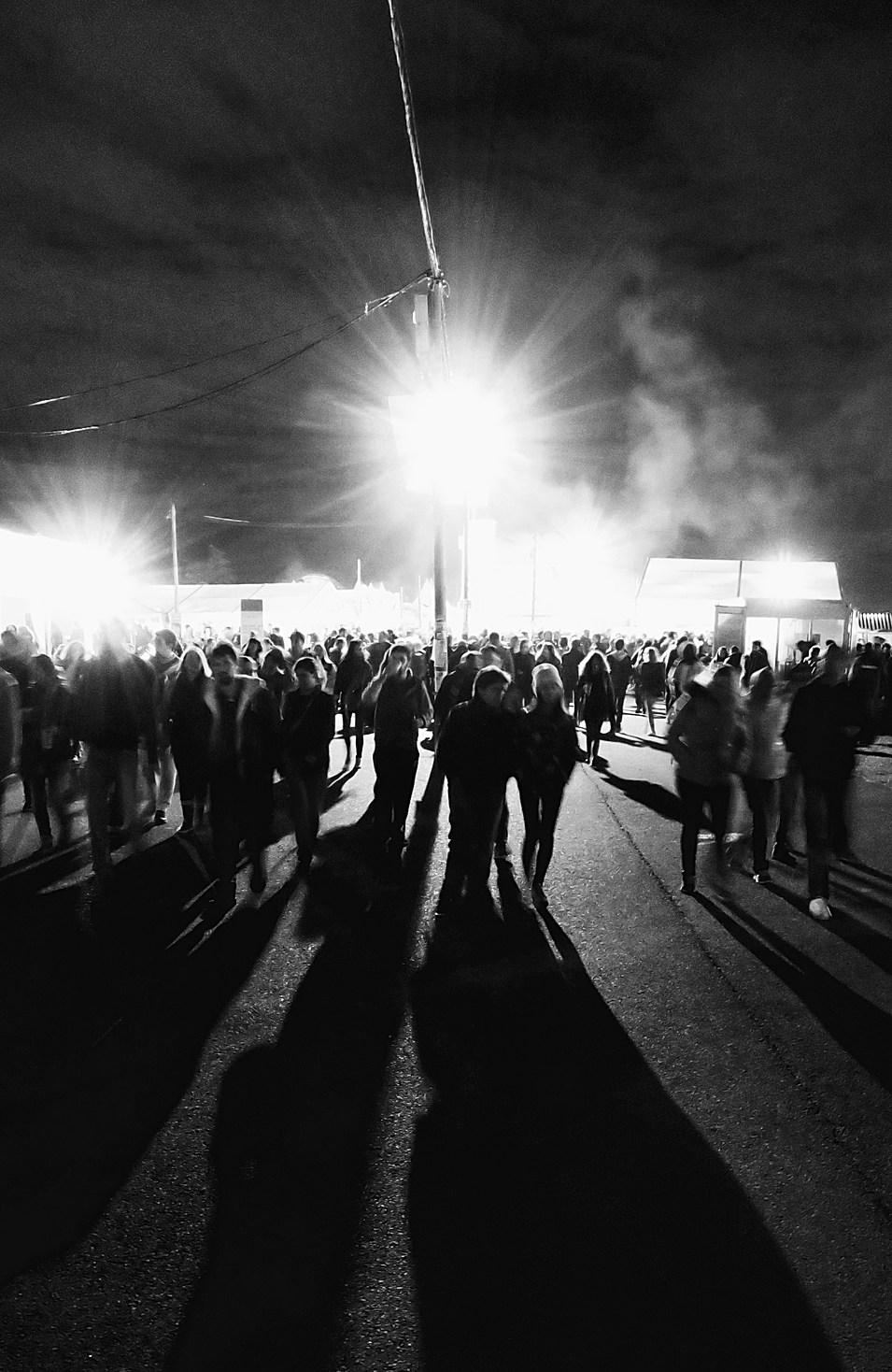 La foule et la fête