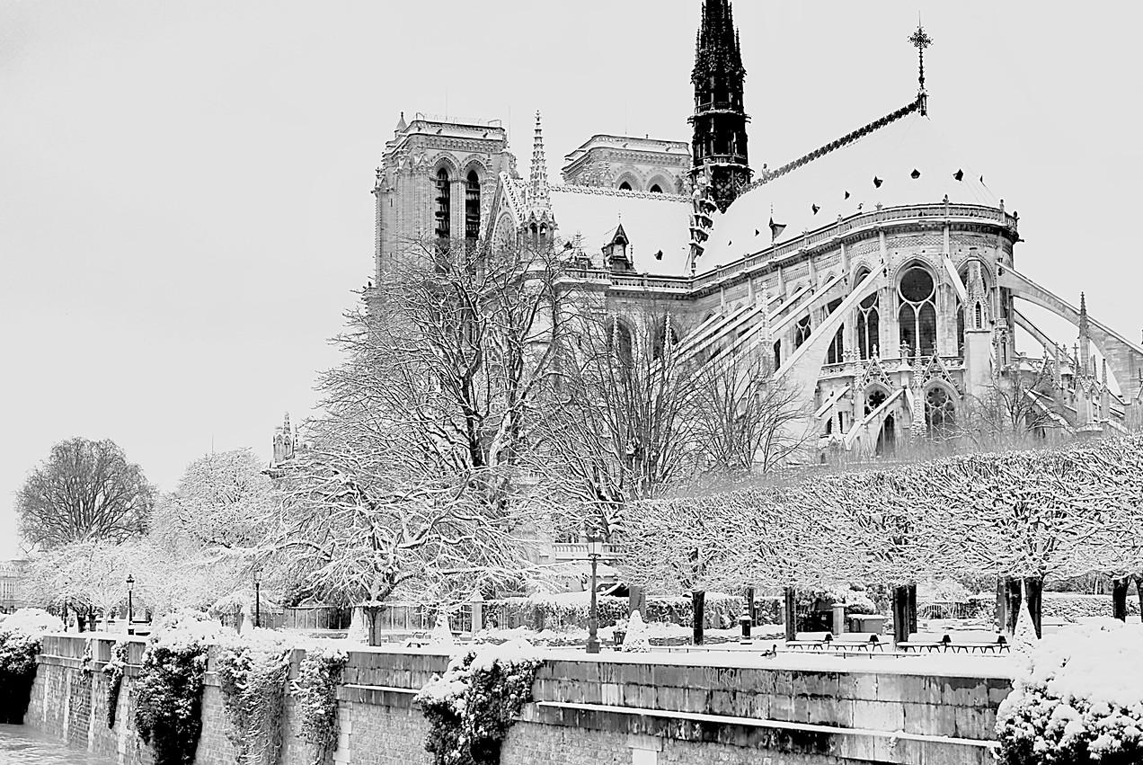 Manteau neigeux de la grande Dame