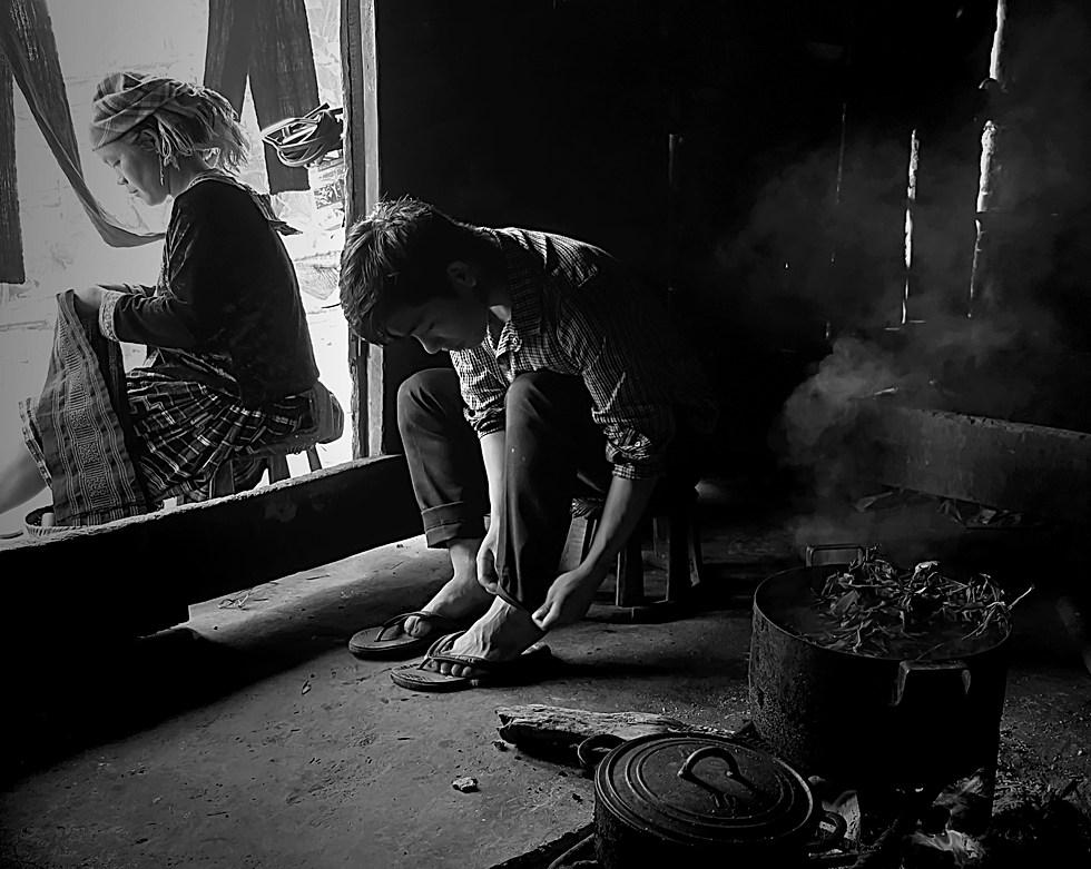 Village Hmong - Nord Vietnam