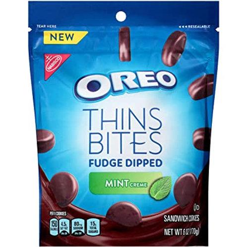 Oreo Fudge Dipped Mint Thins