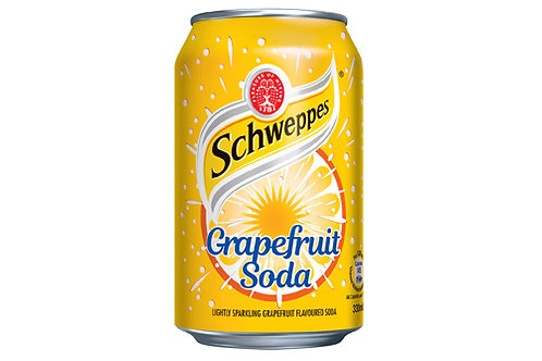Schweppes Grapefruit Soda 355ml Can