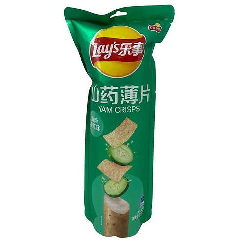 Lays Cucumber Yam Crisps