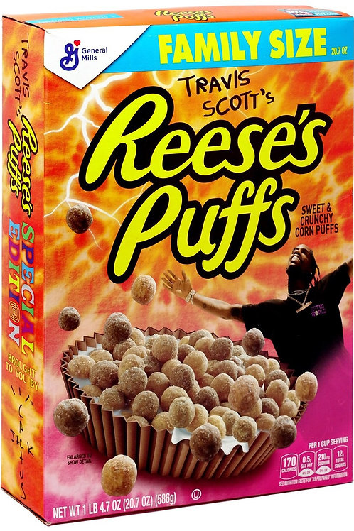 Travis Scott Reese Puffs