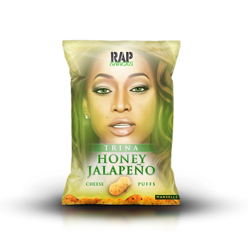 Trina | Honey Jalapeño Cheese Puffs