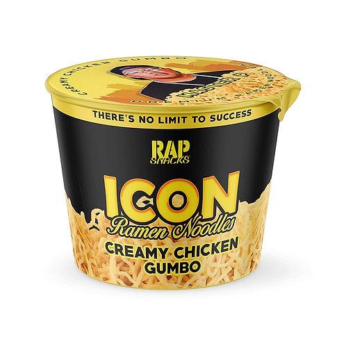 Rap Snacks Icon Ramen Noodles - Creamy Chicken Gumbo