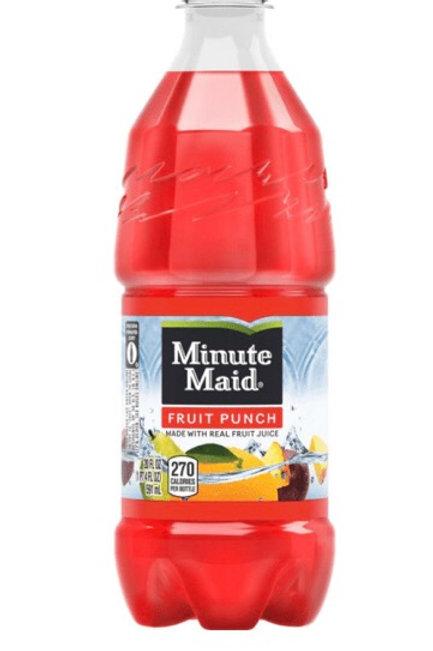 Minute Maid Fruit Punch 591ml Bottle