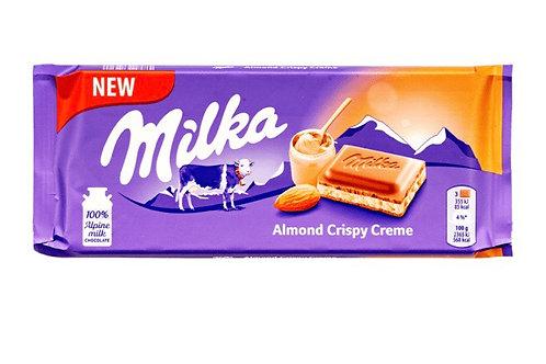 Milka Almond Crispy Creme