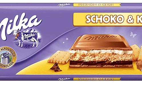 Milka Schoko And Keks (Giant bar)