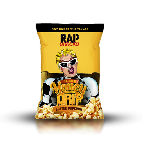 Cardi B | Honey Drip Butter Popcorn