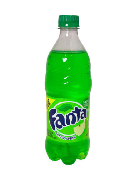 Fanta Green Apple 20z Bottle