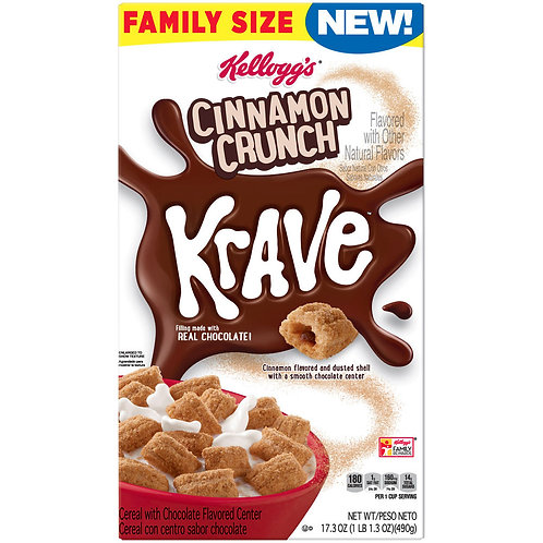 Cinnamon Crunch Krave