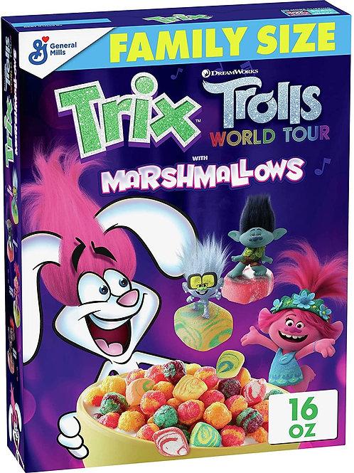 Trix Trolls Marshmellows Cereal