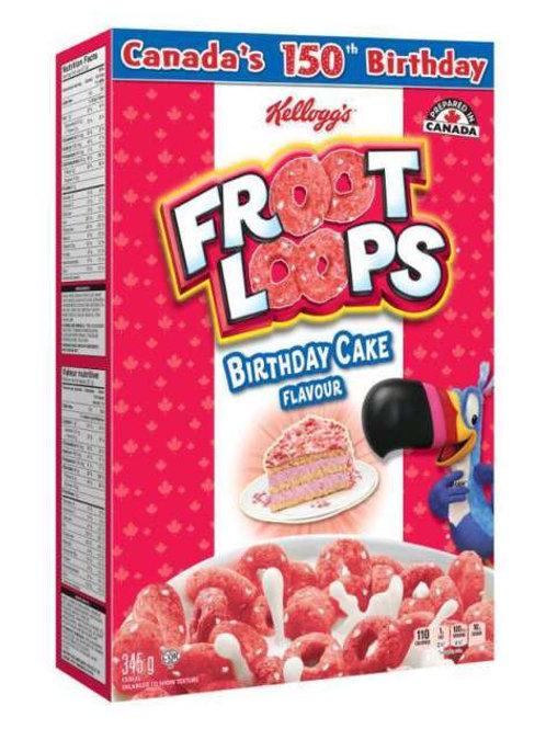 Froot Loops Birthday Cake