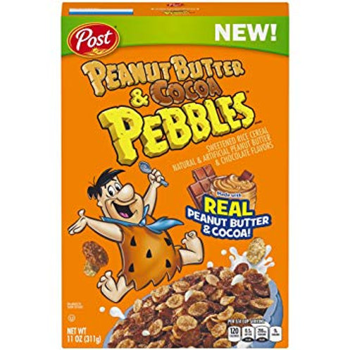 Peanut Butter & Cocoa Pebbles